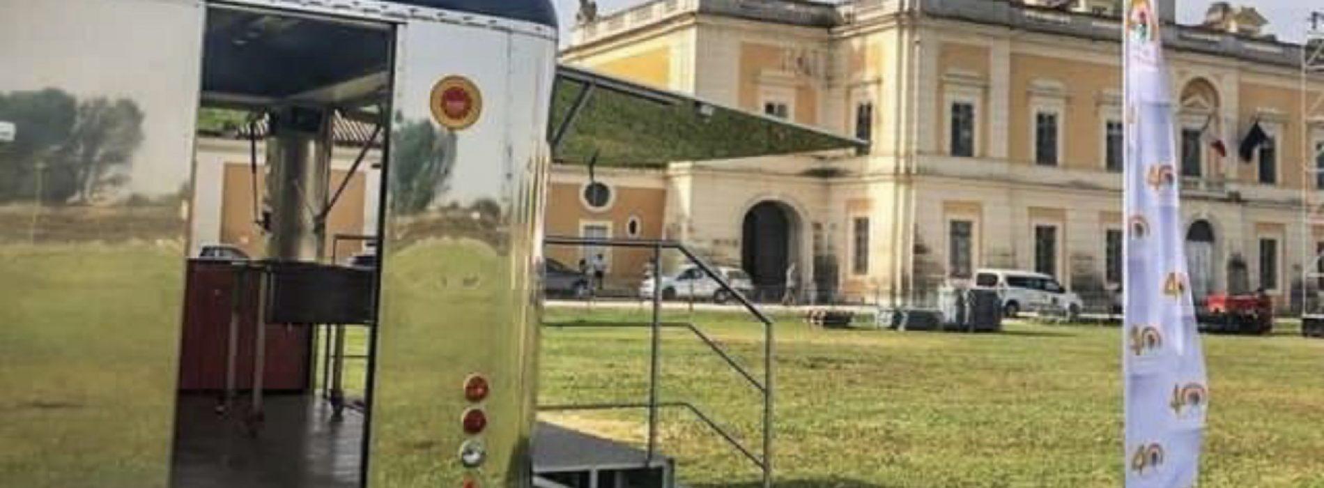 MozzaMobile, prossima fermata Carditello per sosta al festival