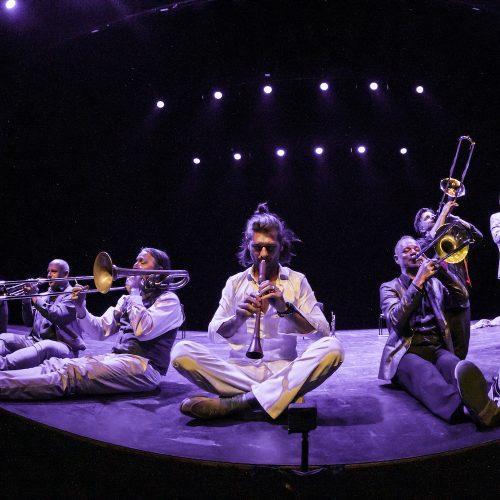 Mnozil Brass alla Reggia, sul palco il lato comico della musica
