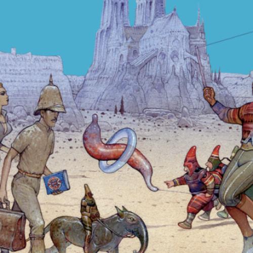 Tributo a Moebius, antico e futuro nei fumetti esposti al Mann