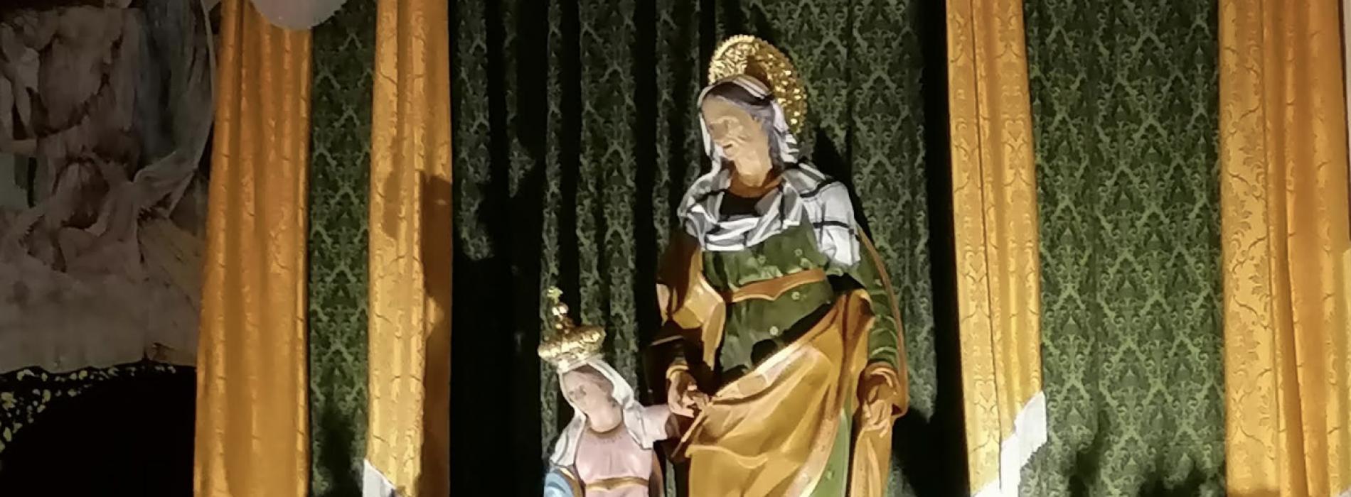 Festa per Sant'Anna, tutta Caserta celebra la sua vicchiarella