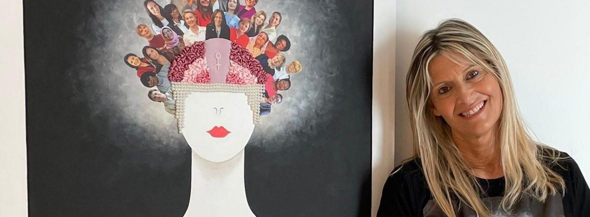 Claudia Mazzitelli da Artime, l'artista presenta le sue women
