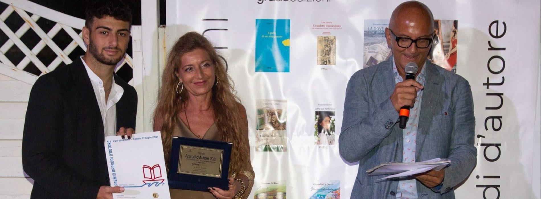 Adele Vairo vincitrice a Ischia, a lei il premio Approdi d'Autore