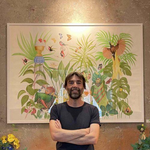 Selva, la mostra dell'artista casertano Angelo Maisto a Milano