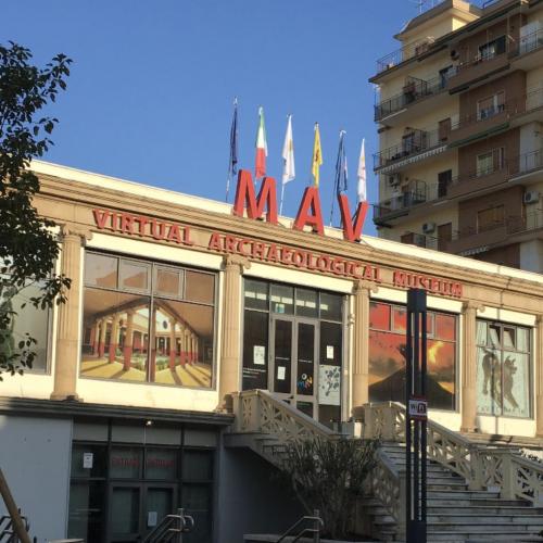 Mav, nuovi orari di apertura per il museo virtuale di Ercolano