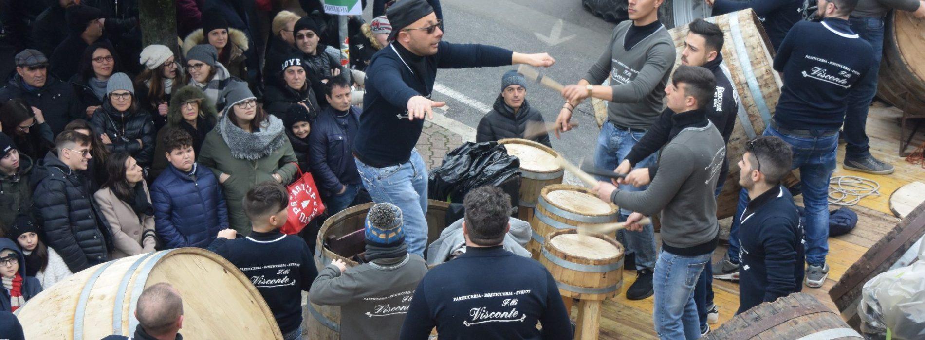 Pastellessa Folk Festival, bottari show a Macerata Campania