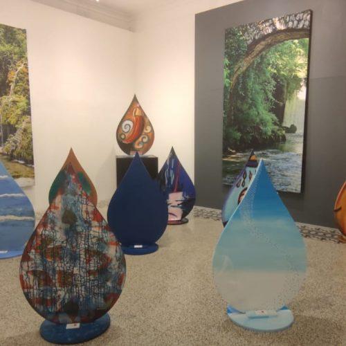 Gocce d'Acqua a Sorrento, prorogata la maxi mostra d'arte