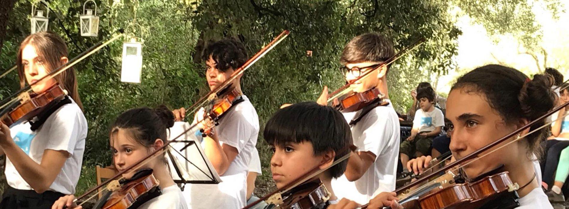 Orchestra Suzuki Casagiove, al Quartiere Militare il concerto