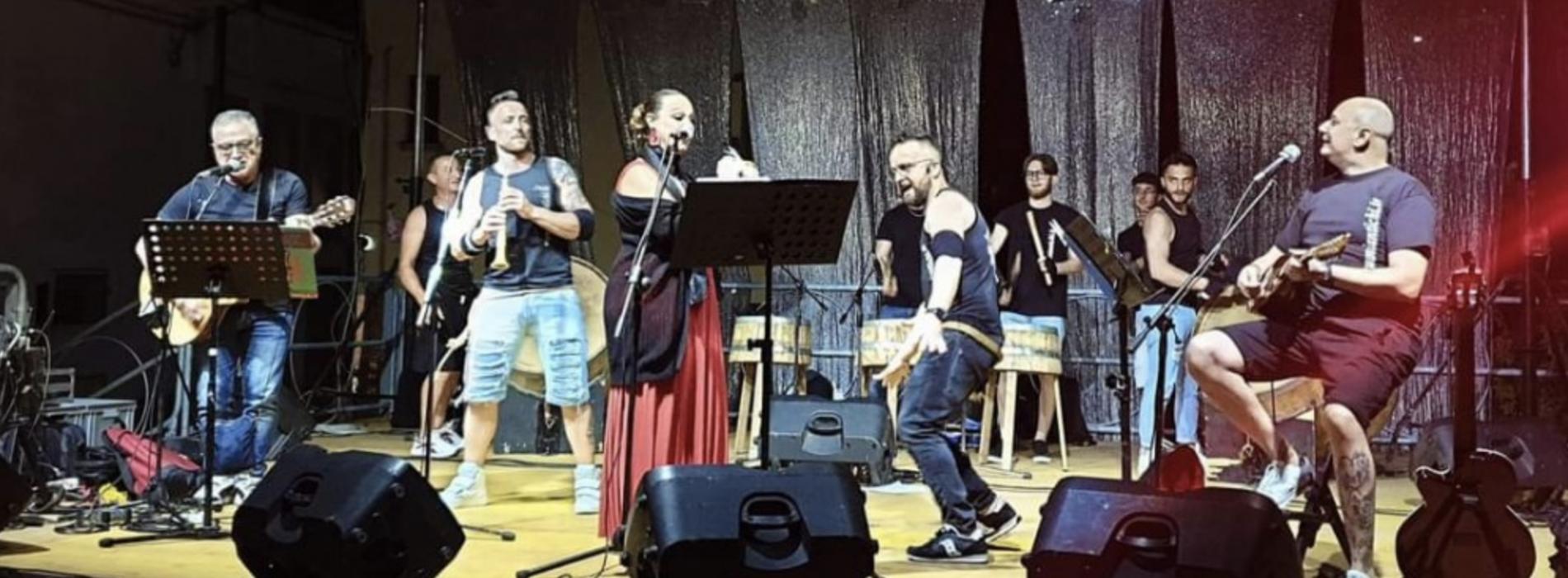 Macerata Campania, 100 bottari al Festival dei Suoni Antichi