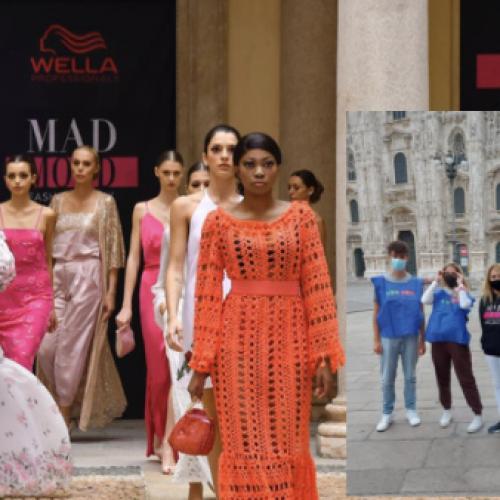 Mad Mood, il Giordani in passerella alla Milano Fashion Week
