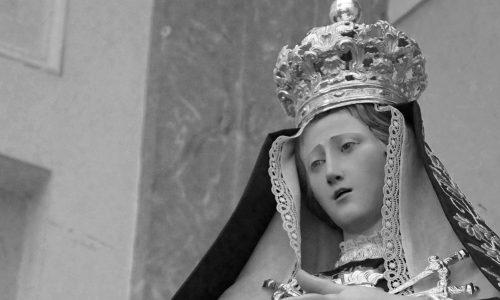 La Vergine Addolorata incoronata, Casolla in udienza dal Papa