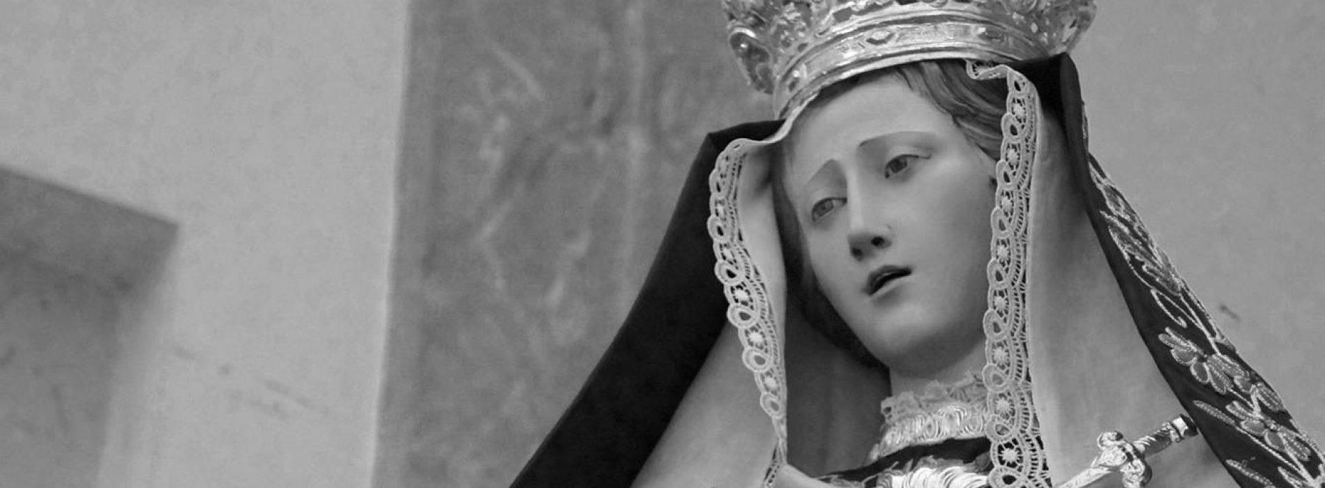Riti sacri a Casolla, in corso i festeggiamenti per l'Addolorata