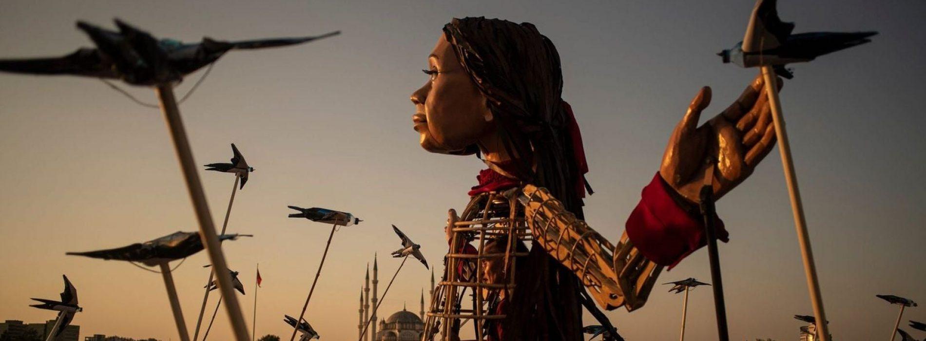 Una marionetta chiamata Speranza, Amal sarà a Capodimonte