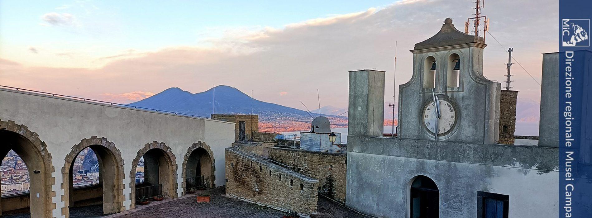 Giornate Europee del patrimonio, Castel Sant'Elmo presente