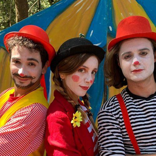 I clown nel Bosco dei Cerri, fiaba della Mansarda a Carditello