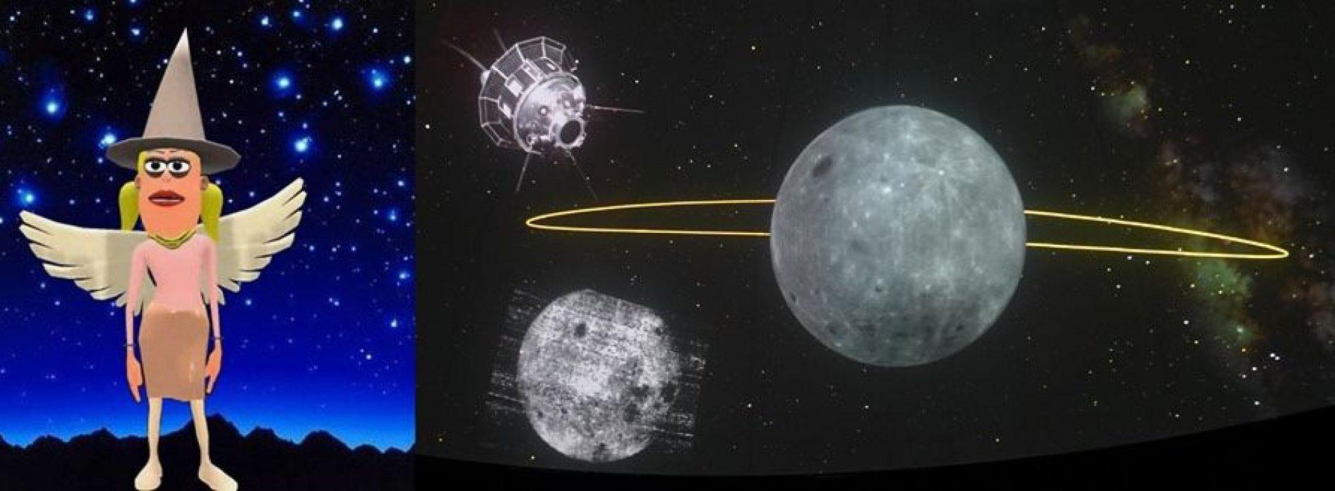 Il Planetario ti porta sulla luna, l'evento con la fata della notte