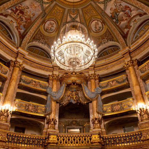 Teatro di Corte aperto nei weekend, visita completa in Reggia
