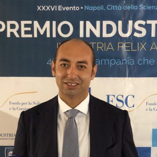 Beniamino Schiavone, premio Industria Felix per gli under 40