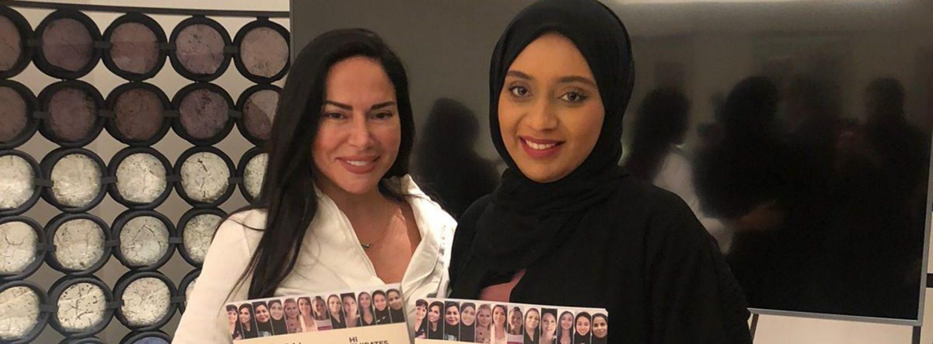 Benedetta Paravia ad Abu Dhabi, il suo è un libro di successo