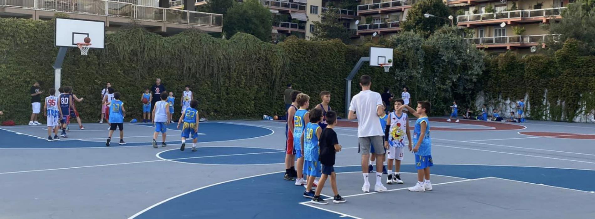 Open day nel segno del minibasket, riparte la Young Caserta