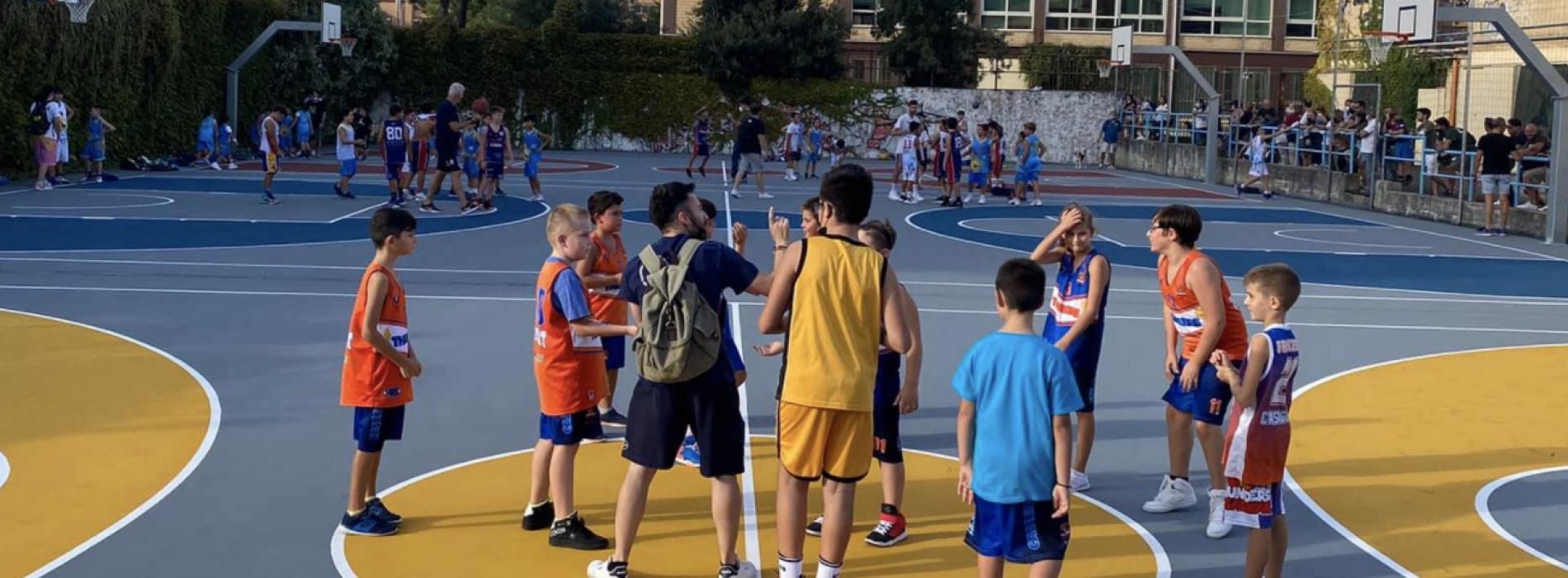 Juvecaserta Academy, il minibasket si impara anche a cinema