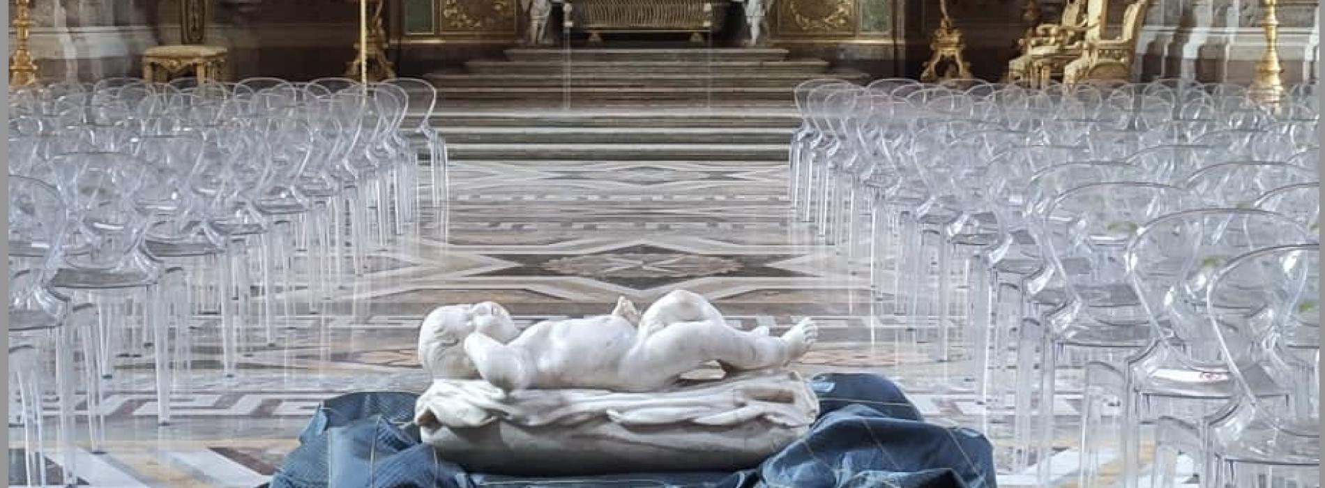 L'opera di Sanmartino, la Cappella Palatina  accoglie il bimbo