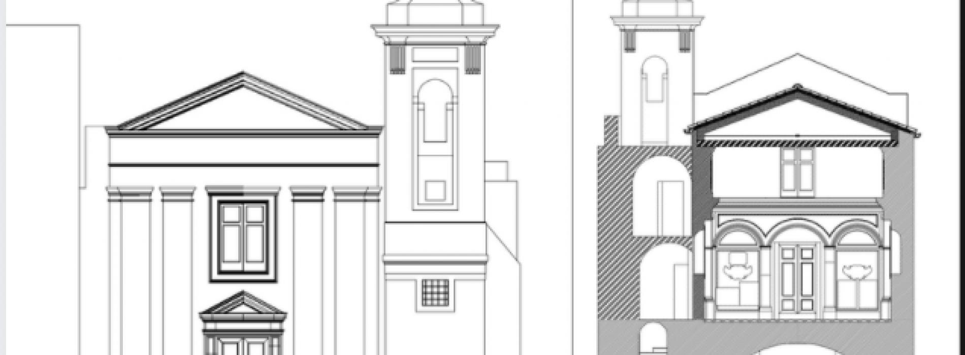 Chiesa di Sant'Elena, restauro a firma dell'architetto Specchia