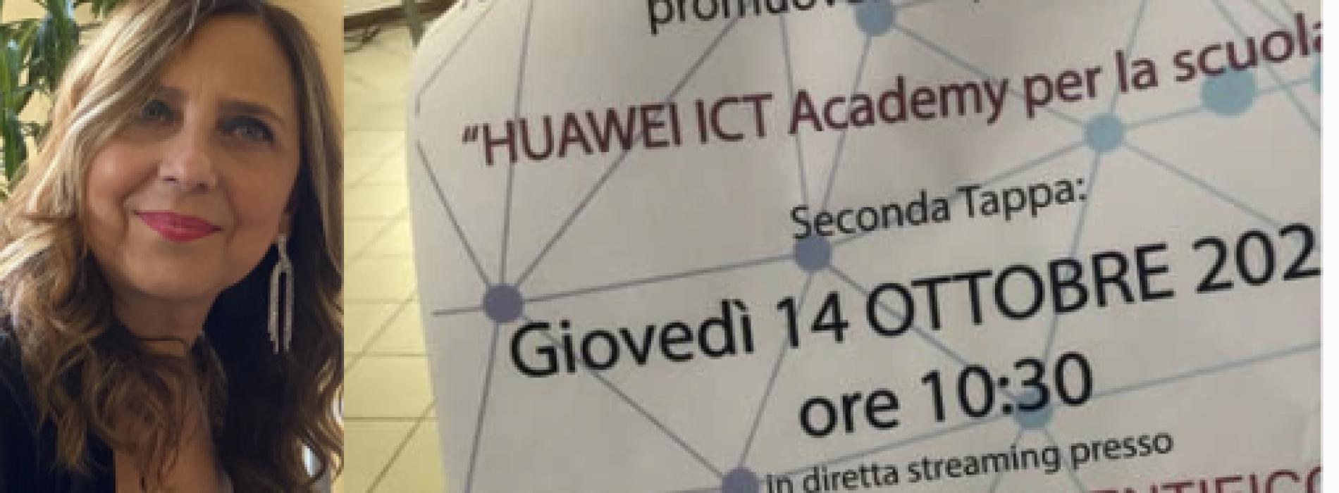 Huawei Academy per la scuola, seconda tappa all'Itis Giordani
