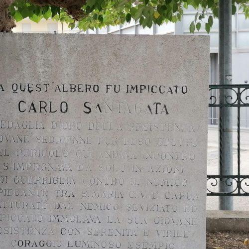 Un eroe della Resistenza, a Capua si ricorda Carlo Santagata